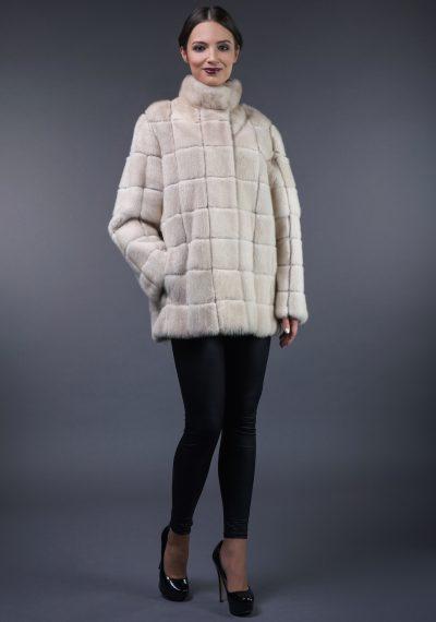 Mink fur coat – vest