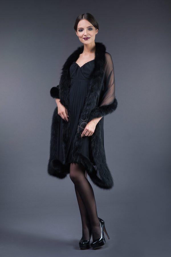 Silk – chiffon shawl