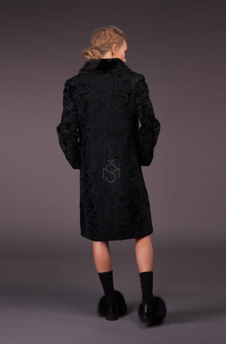 Karakulio kailio paltas