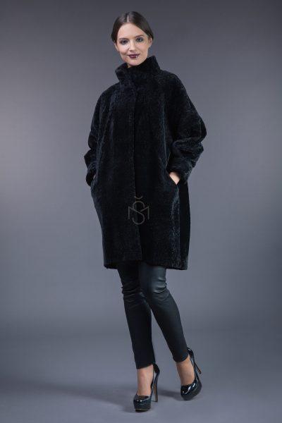 Mutton sheepskin coat