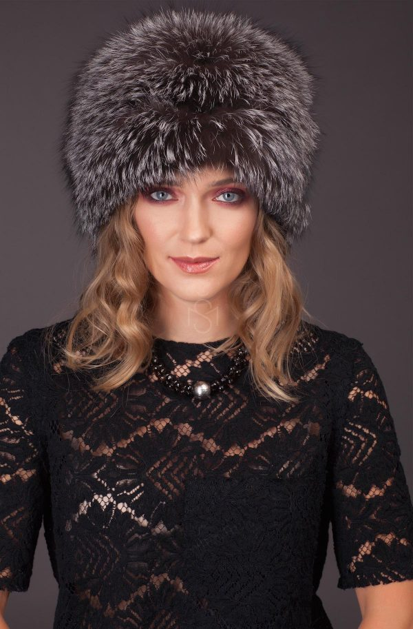 Fox fur hat