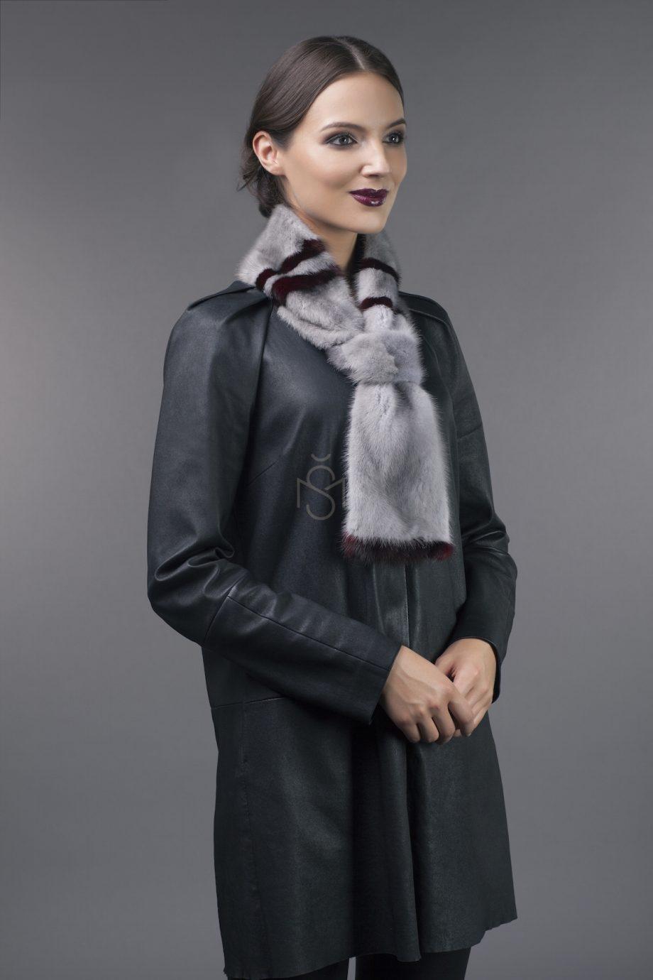 Норковый шарф