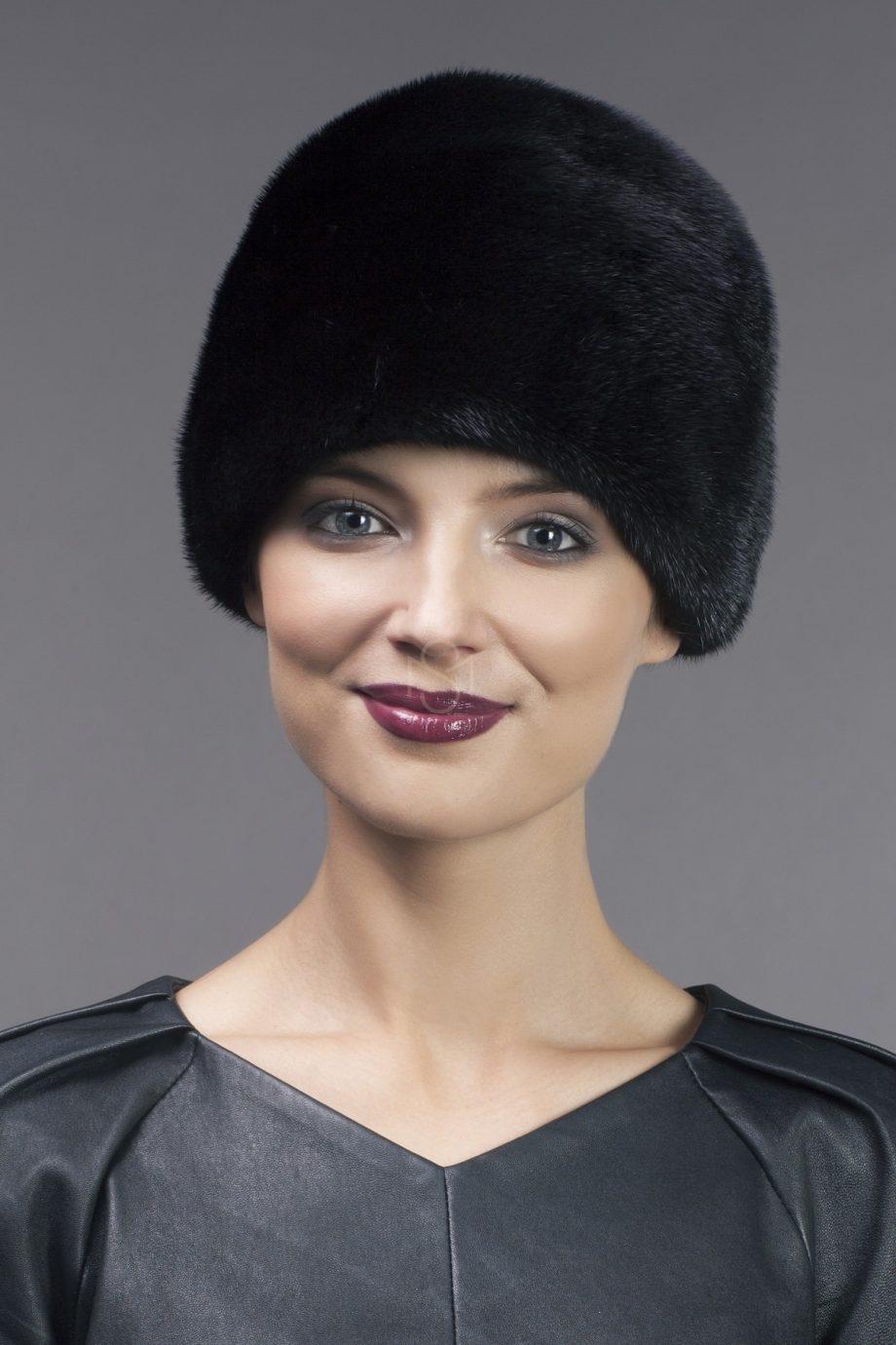 Mink fur hat