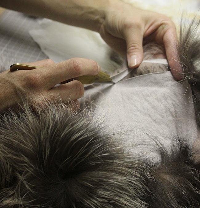 kailiniu siuvimas
