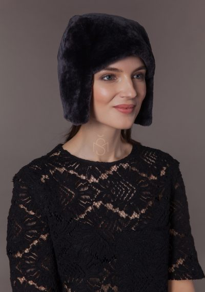 Mouton sheepskin hat