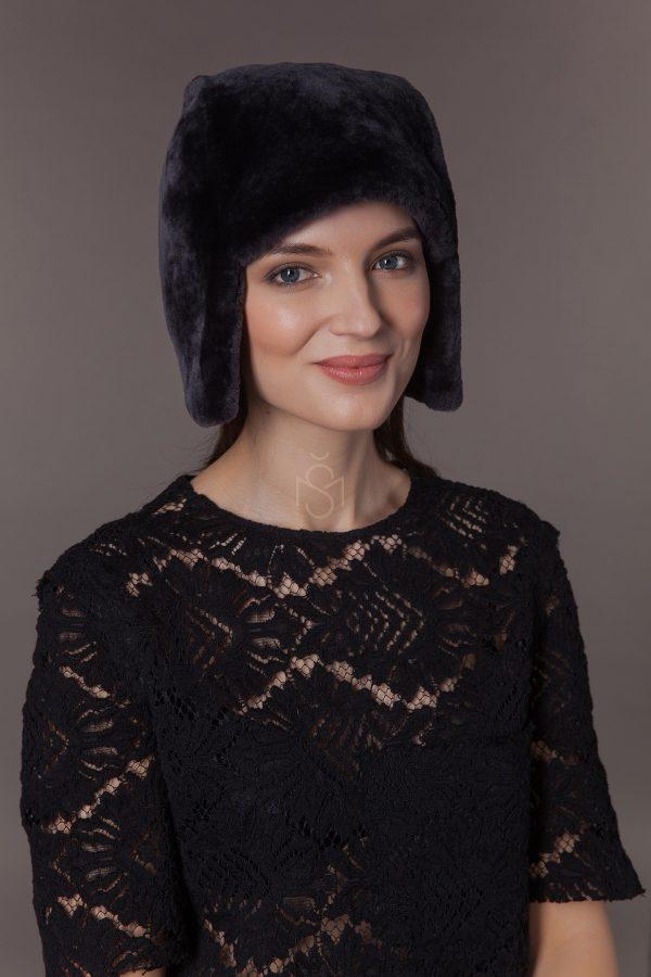 Mouton sheepskin hat