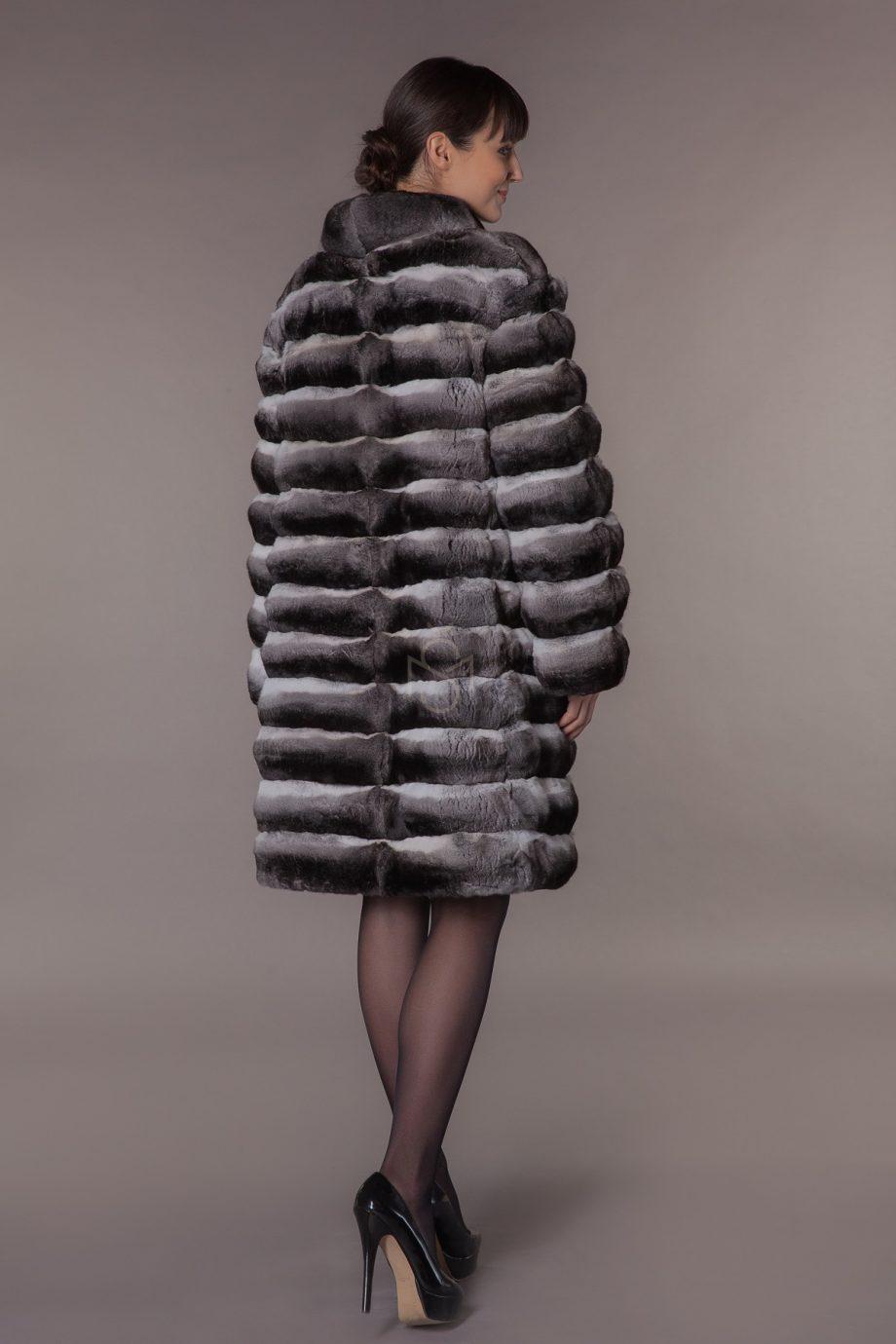 chinchilla fur coat