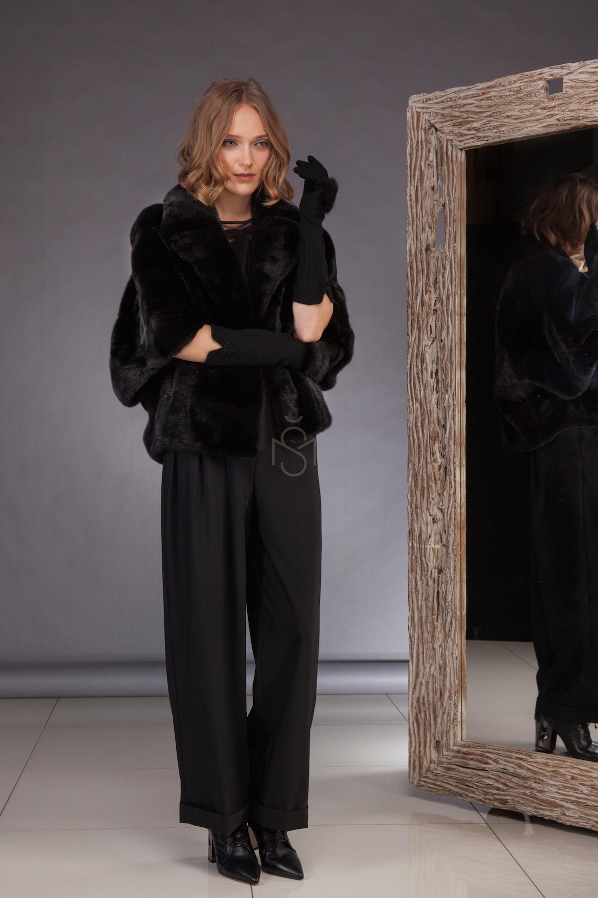 Mink fur coat_short_made by SILTA MADA fur studio in Vilnius