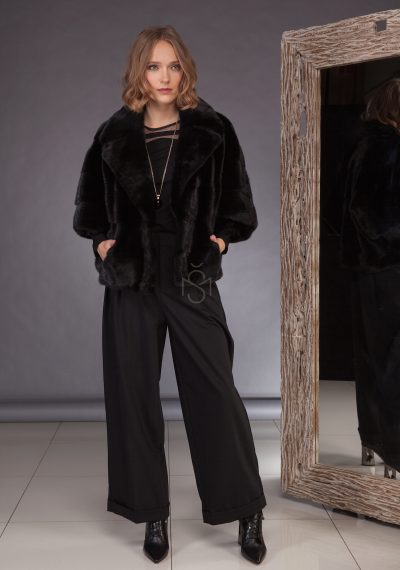 Mink fur coat_short_made by SILTA MADA fur studio in Vilnius