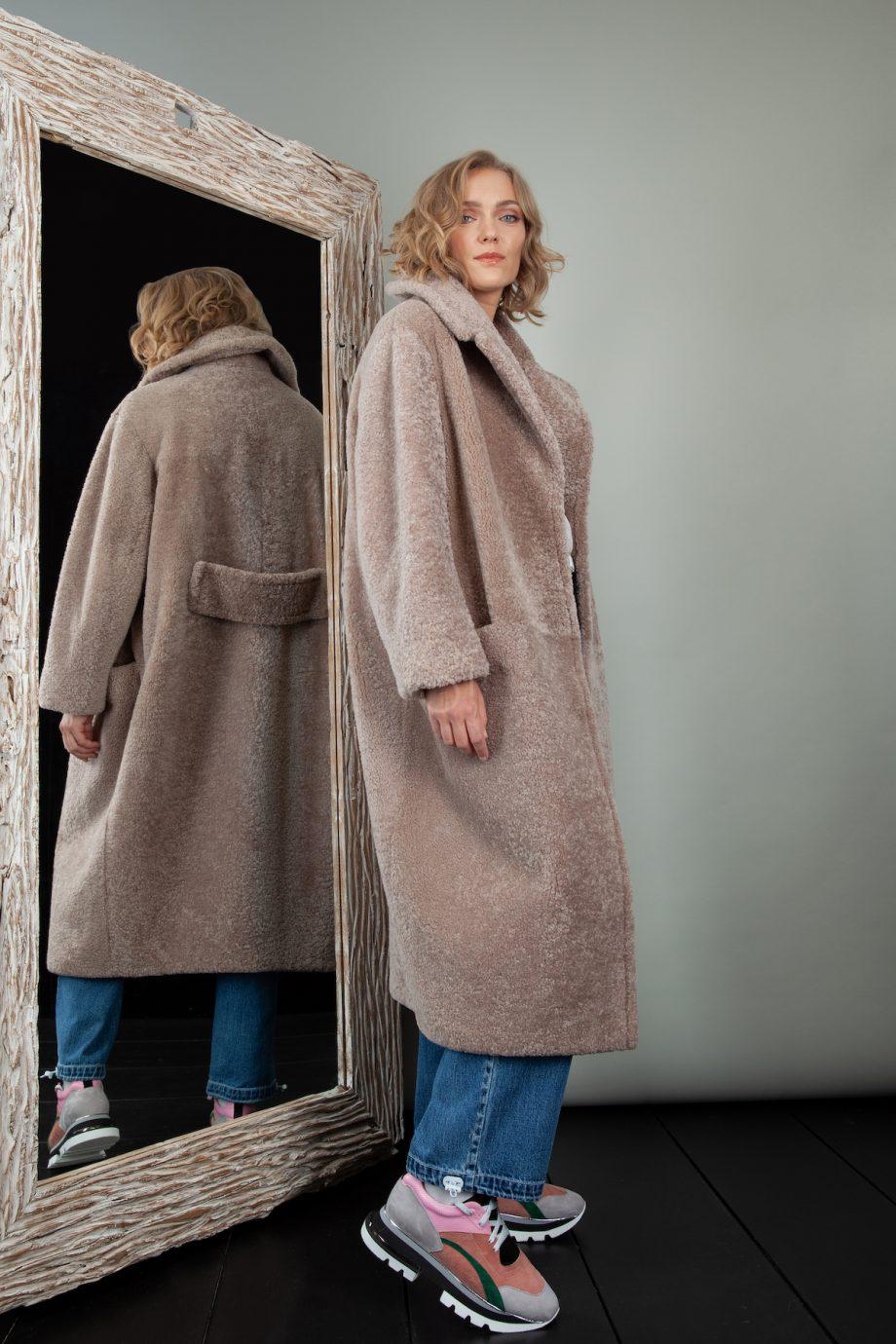 avikailio paltas teddy coat
