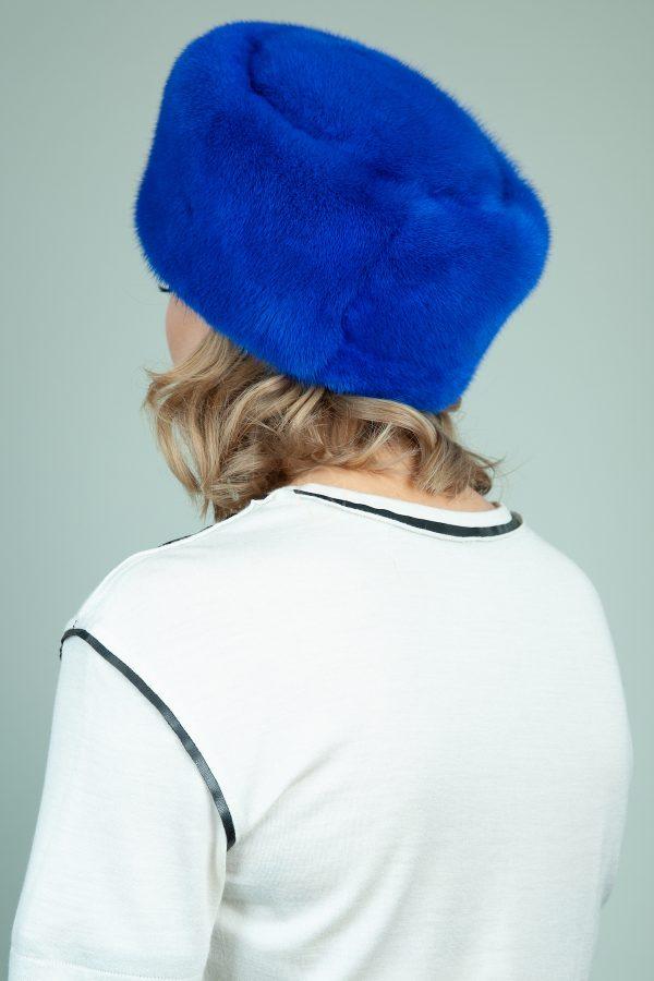 klasikine melynos audines kepure