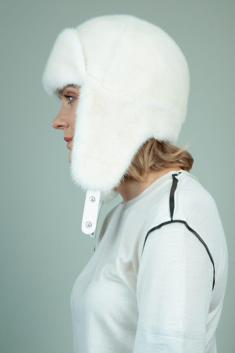 kristalo audines kepure su susegamomis ausimis moterims