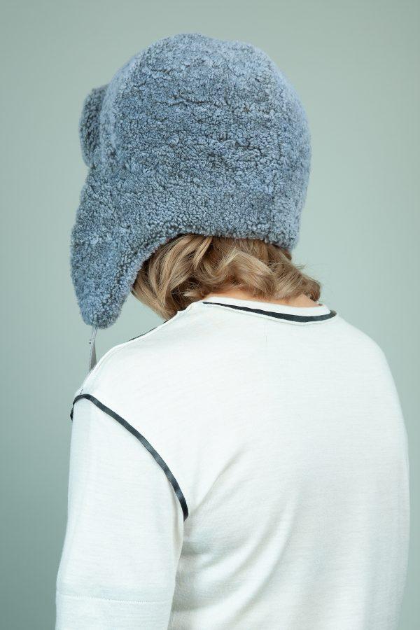 melyno avikailio kepure su susegamomis ausimis moterims